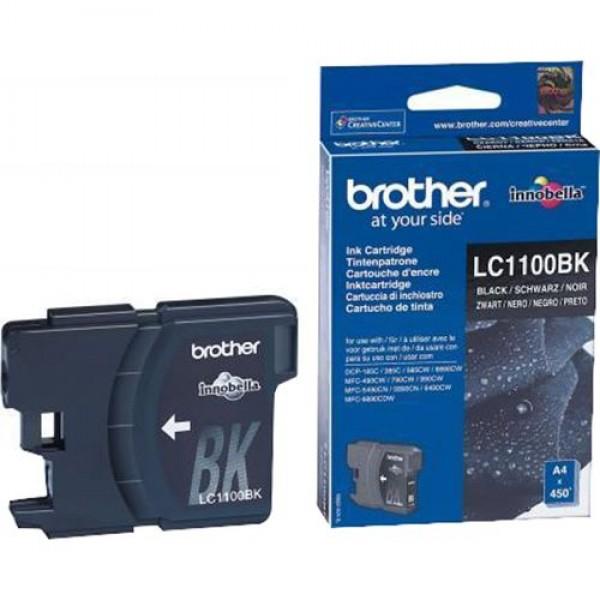 Cartus cerneala Brother Black LC1100BK