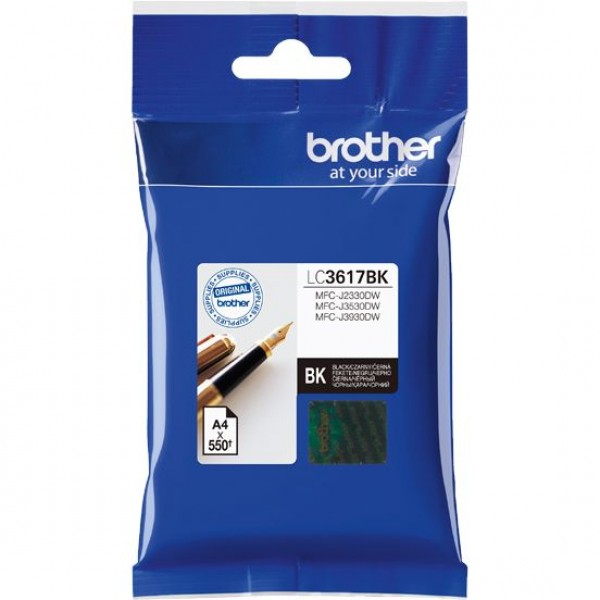 Brother LC3617BK, Ink Cartridge Black