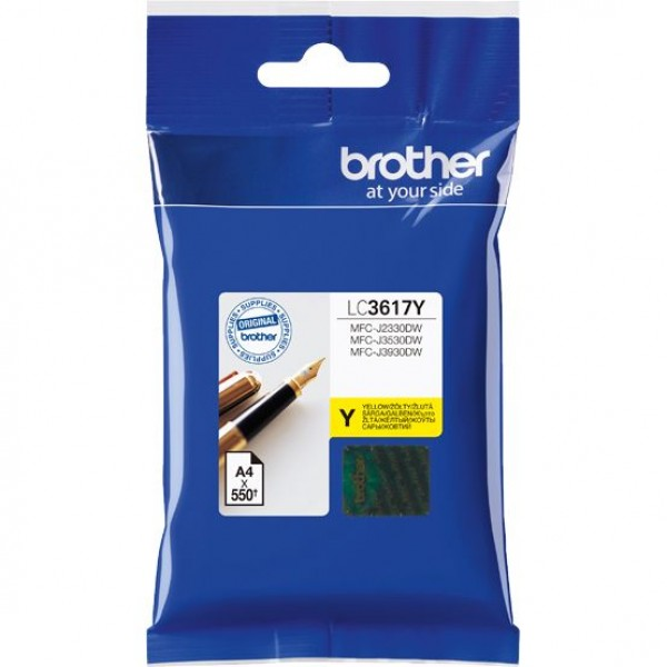 Brother LC3617Y, Ink Cartridge Yellow