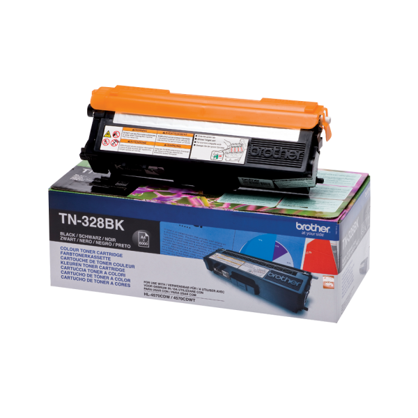 Cartus toner Brother Black cap. mare TN328BK