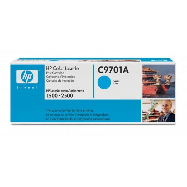 Reincarcare cartus toner HP Cyan C9701A