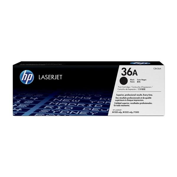 Reincarcare cartus toner HP 36A Black CB436A