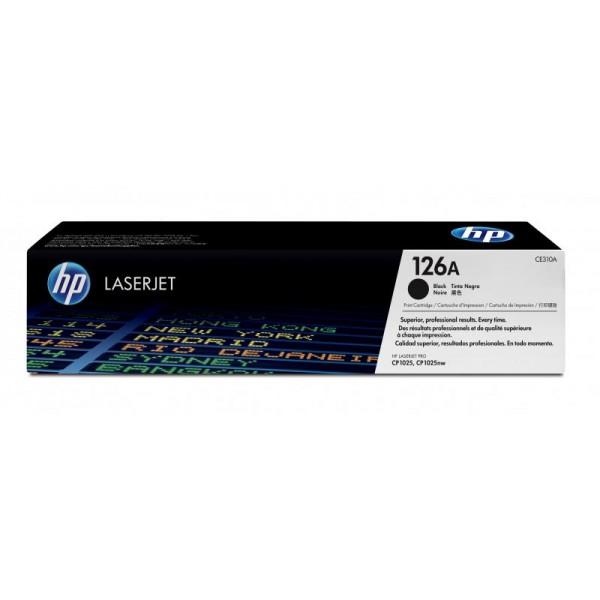 Reincarcare cartus toner HP Black CE310A