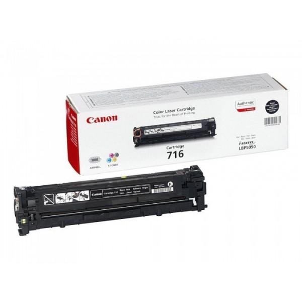 Reincarcare cartus toner Canon Black CRG-716B