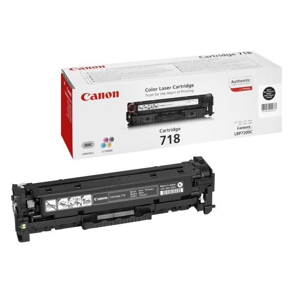 Reincarcare cartus toner Canon Black CRG-718B