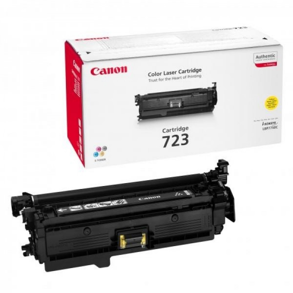 Reincarcare cartus toner Canon Yellow CRG-723Y