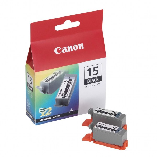 Cartus cerneala Canon Black BCI-15B 2buc/pac