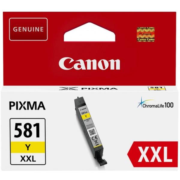 Cartus cerneala Canon Yellow cap. extra CLI-581XXL...