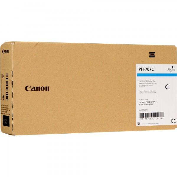Cartus Canon PFI-707C , cyan, 700ml