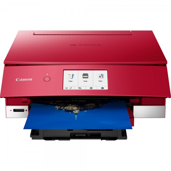 Multif. inkjet A4 Canon PIXMA TS8352 Red