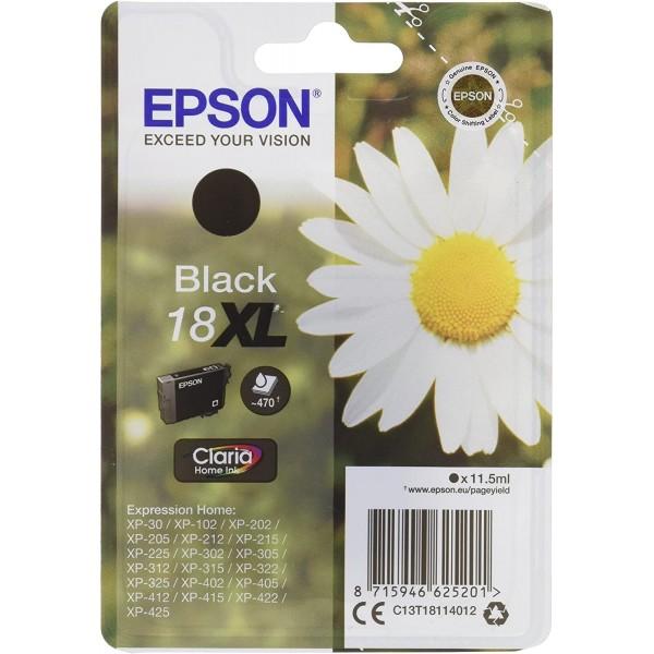 Cartus cerneala Epson Black cap. mare 18XL T181140