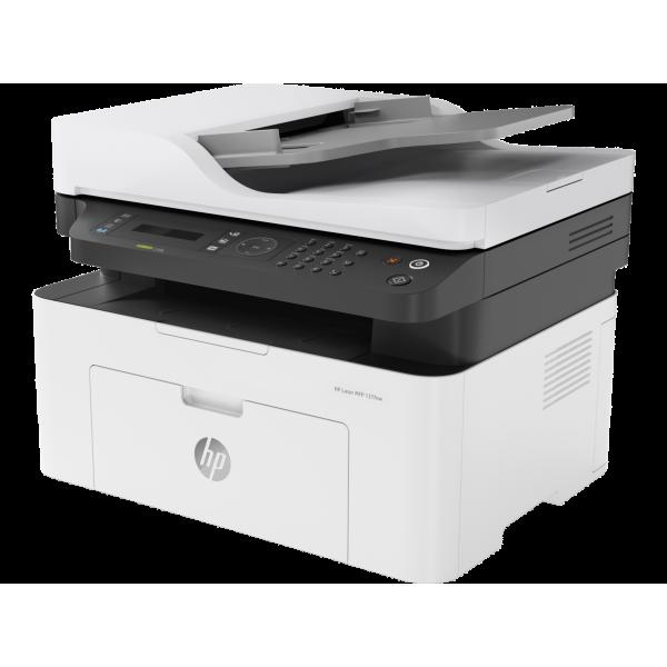 Multif. laser A4 mono fax HP Laser MFP 137fnw Printer 4ZB84A