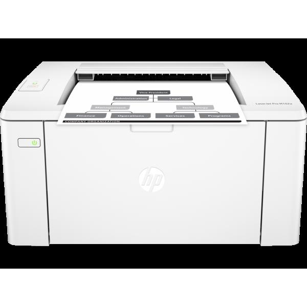 Imprimanta laser A4 mono HP LJ M102a G3Q34A