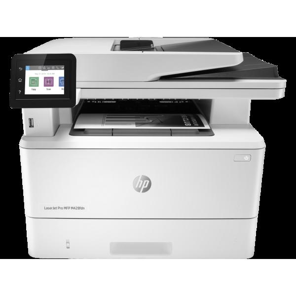Multif. laser A4 mono fax HP LaserJet M428fdn W1A29A