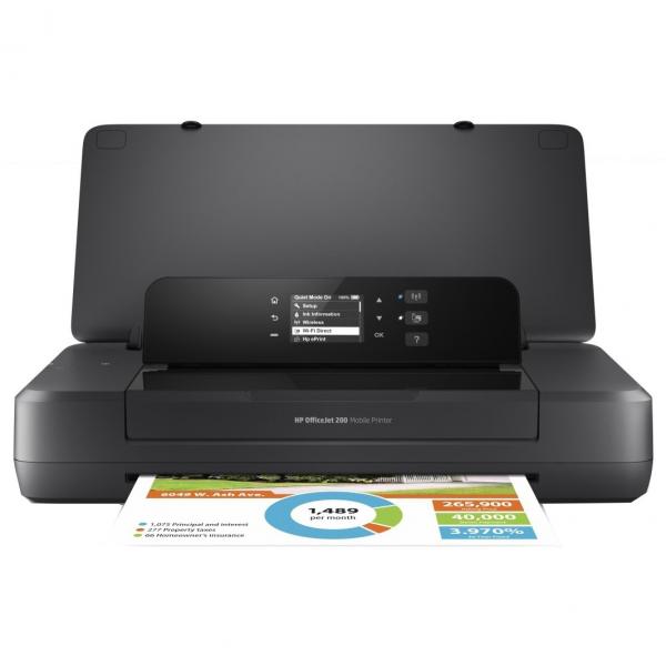 Imprimanta inkjet A4 HP OJ 202 Mobile N4K99C