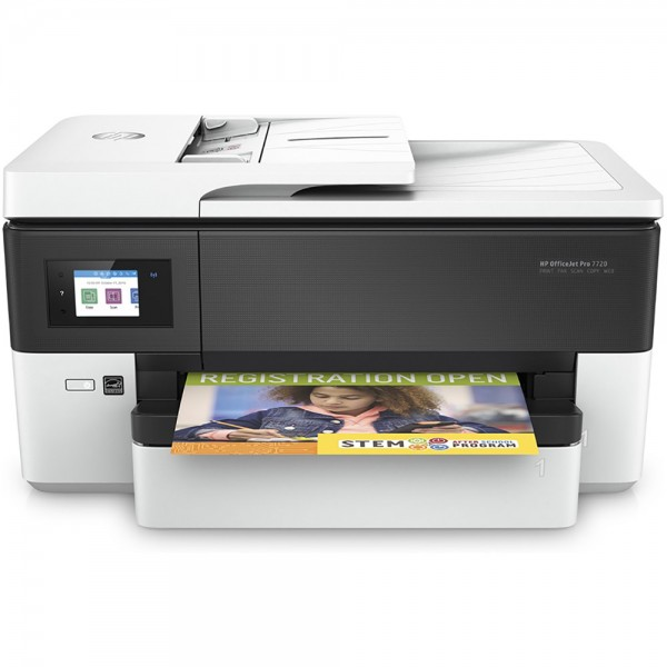 Multif. inkjet A3 fax HP OJ Pro 7720 Wide Format AiO Y0S18A