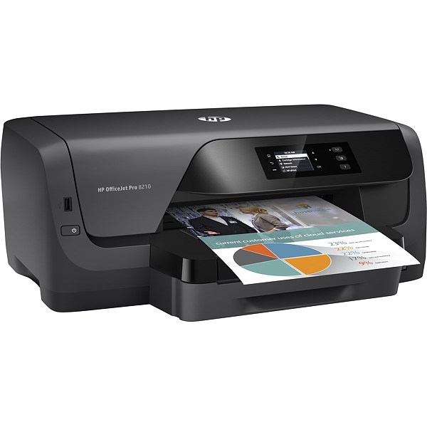 Imprimanta inkjet A4 HP OJ Pro 8210 D9L63A