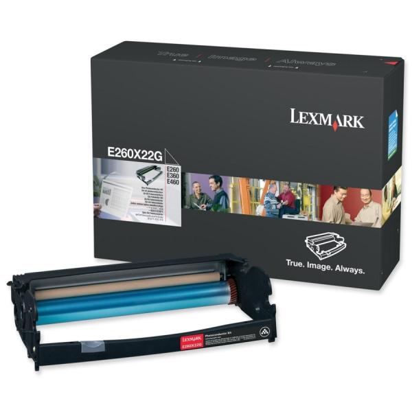 Kit fotoconductor Lexmark Black E260X22G