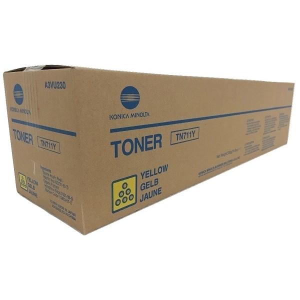 Cartus Toner Yellow Minolta TN-711Y A3VU250