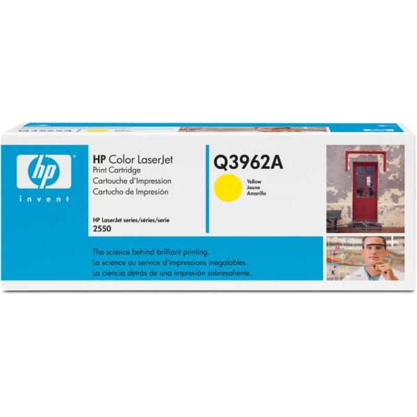 Reincarcare cartus toner HP Yellow Q3962A
