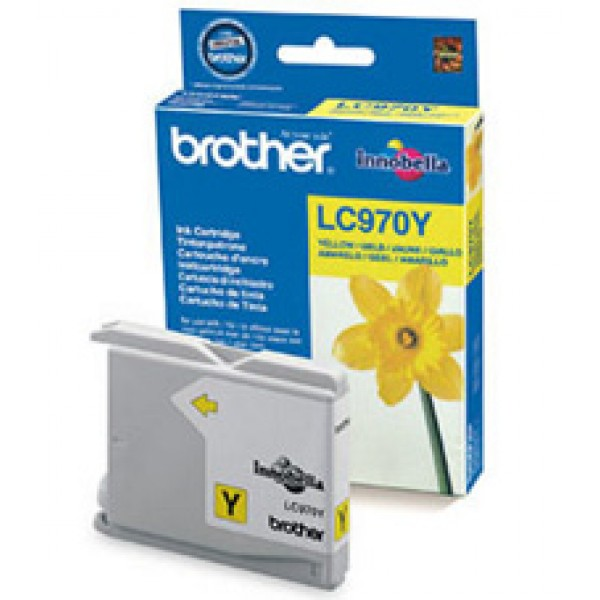 Cartus cerneala Brother Yellow LC970Y