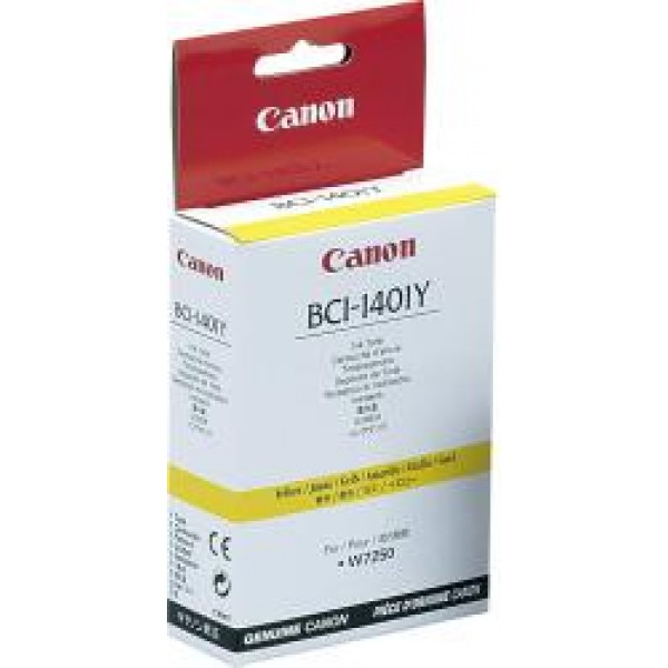 Cartus cerneala Canon Dye Yellow BCI-1401Y