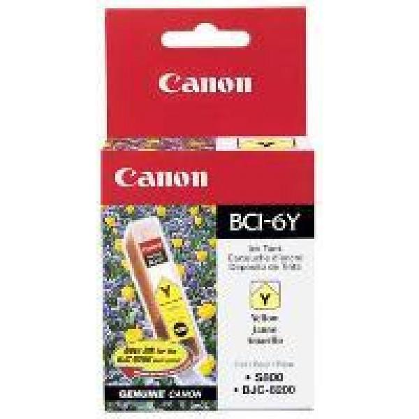 Cartus cerneala Canon Yellow BCI-6Y