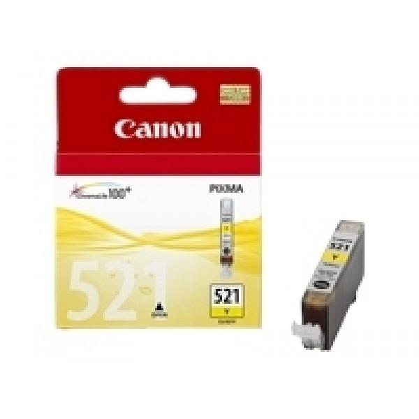 Cartus cerneala Canon Yellow CLI-521Y
