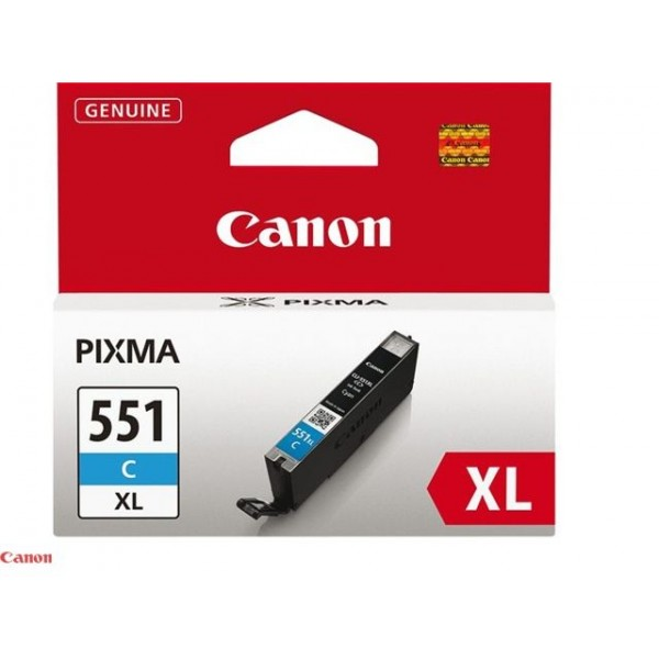 Cartus cerneala Canon Cyan cap. mare CLI-551XLC