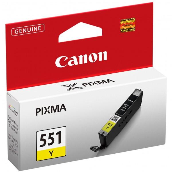 Cartus cerneala Canon Yellow CLI-551Y