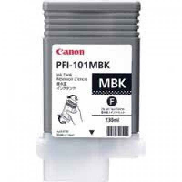 Cartus cerneala Canon Pigment Matte Black PFI-101M...