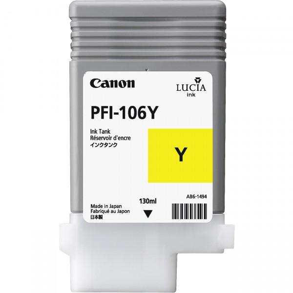 Cartus cerneala Canon Yellow PFI-106Y
