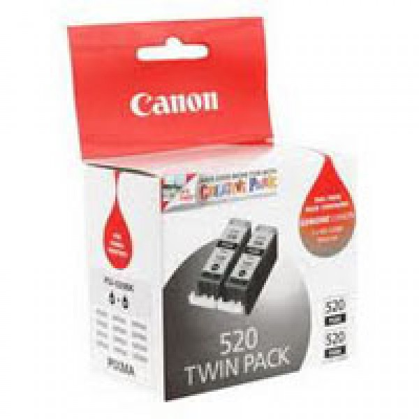 Cartus cerneala Canon Black PGI-520B 2buc/pac