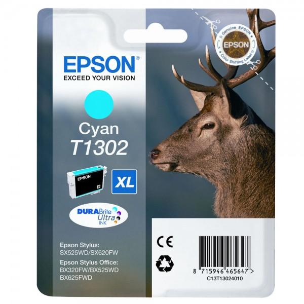 Cartus cerneala Epson Cyan cap. mare T130240