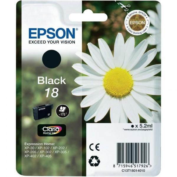 Cartus cerneala Epson Black 18 T180140