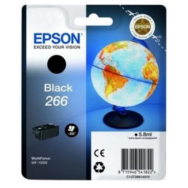 Cartus cerneala Epson 266 black standard capacity ...