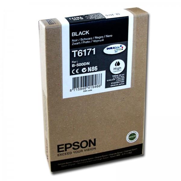 Cartus cerneala Epson Black cap. mare T617100