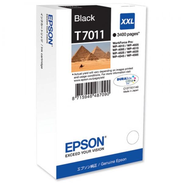Cartus cerneala Epson Black cap. mare T701140