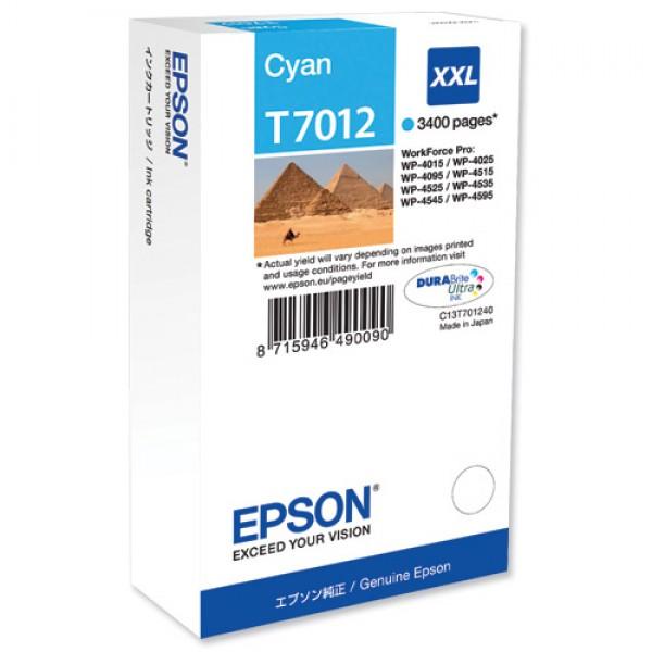 Cartus cerneala Epson Cyan cap. mare T701240