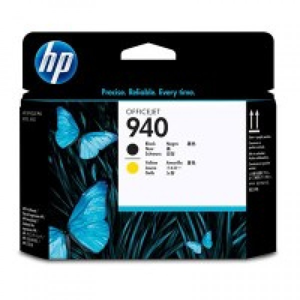 Cap de printare HP 940 Black&Yellow C4900A