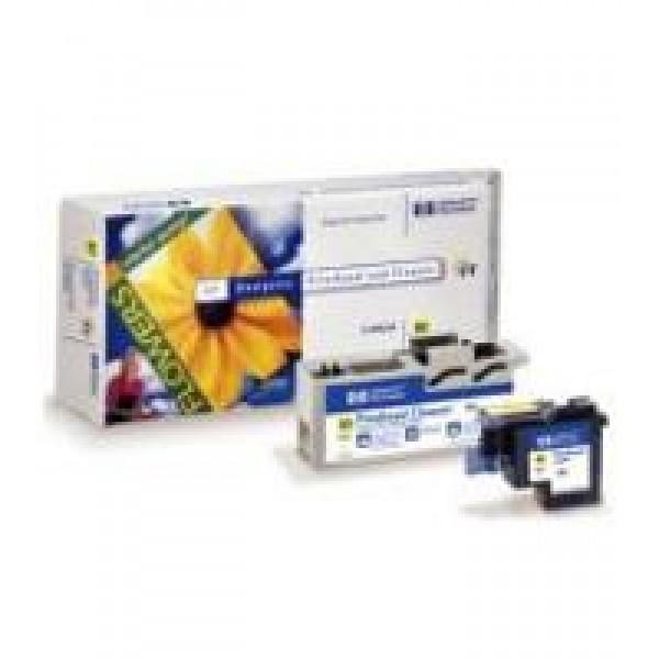 Cap de printare si cleaner HP 83 UV Yellow C4963A