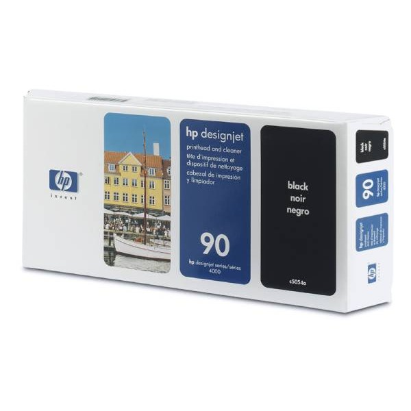 Cap de printare si cleaner HP 90 Black C5054A