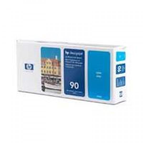 Cap de printare si cleaner HP 90 Cyan C5055A