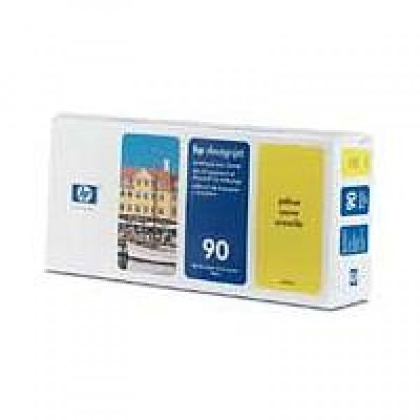 Cap de printare si cleaner HP 90 Yellow C5057A