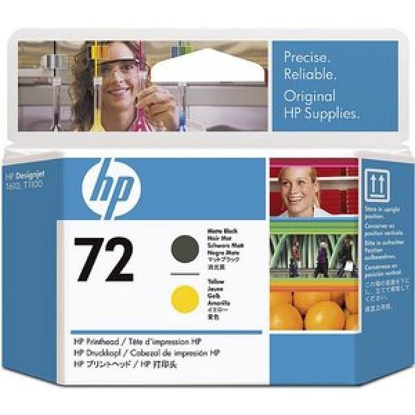 Cap de printare HP 72 Matte Black&Yellow C9384...
