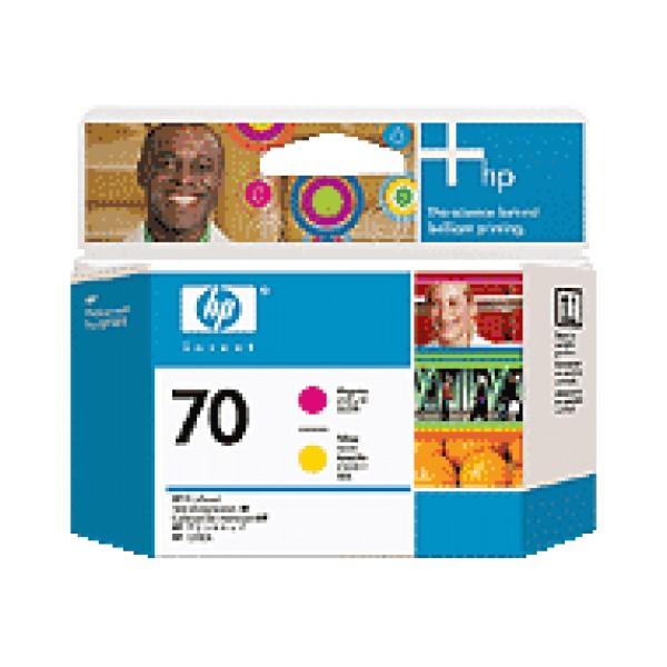 Cap de printare HP 70 Magenta&Yellow C9406A