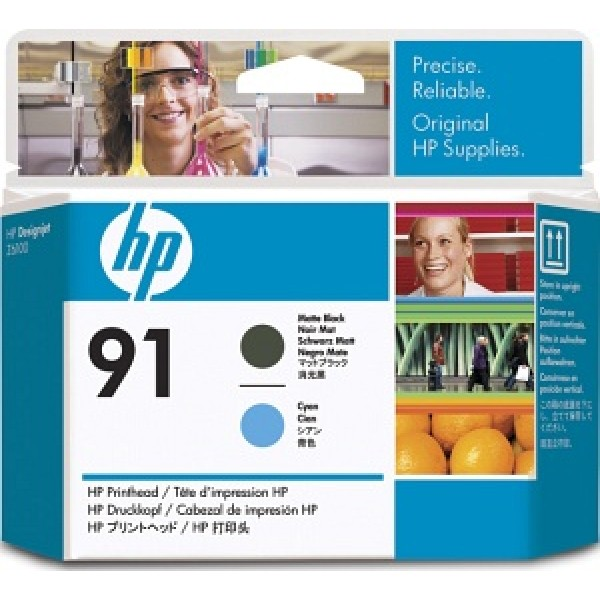 Cap de printare HP 91 Matte Black&Cyan C9460A