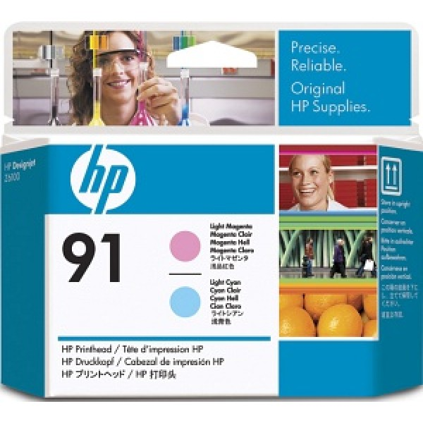 Cap de printare HP 91 Light Magenta&Light Cyan...