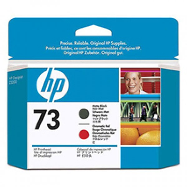 Cap de printare HP 73 Matte Black&Chromatic Red CD949A