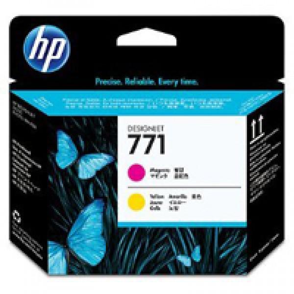 Cap de printare HP 771 Magenta&Yellow CE018A